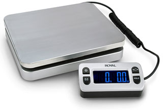 The Royal DG110 Shipping/Postal Scale.