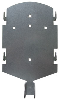 TimePilot Extreme Blue Mounting Plate