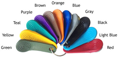 iButtons are available in 12 colors. Click for details.