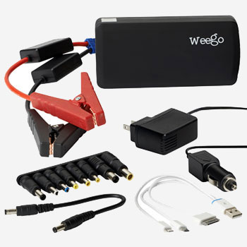 Heavy-Duty Weego Jump Starter Battery+